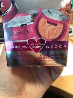 Becca highlighter & glam glow mask