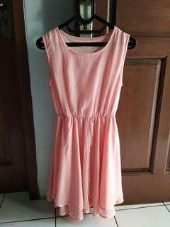 Mini Dress Cute Pink