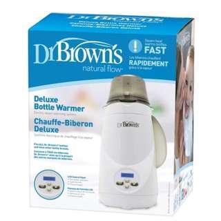 [全新] Dr Brown's Deluxe Bottle Warmer 電暖奶器