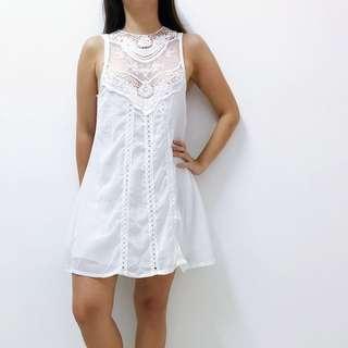 White lace dress #JAN50