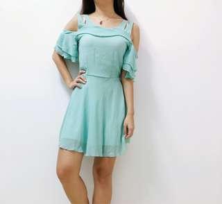 Mint green dress #JAN50