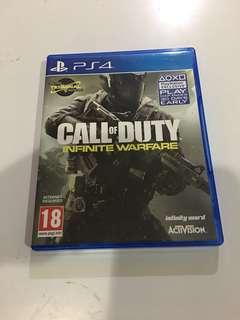 Sony PS4 Call of Duty Infinite Warfare with DLC