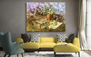 🚚 Spring. Oil painting. Original artwork