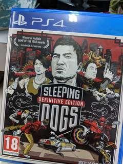 Ps4 Sleeping Dog