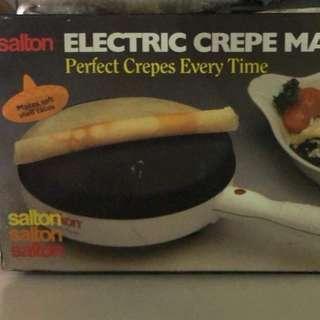 Salton Crepe Maker