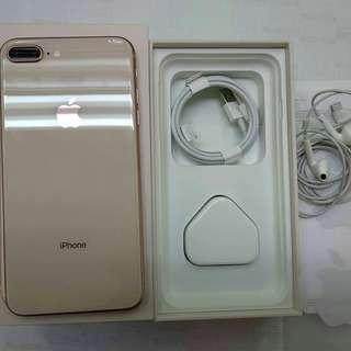 Iphone 8 gold plus