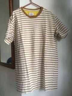 Norse Project Gold Stripe Tees