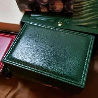 Rolex boxes Vintage and current models box
