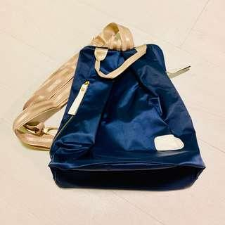 🚚 Blue & Gold Backpack