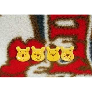 Winnie the Pooh 小熊維尼 陶瓷筷子座 一套4個