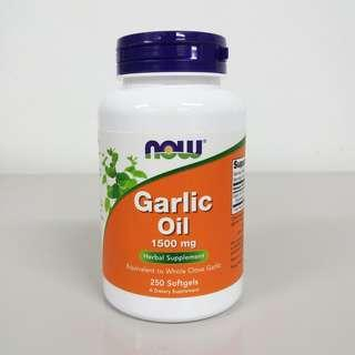 Now Foods, Garlic Oil 1500mg, 250 Softgels