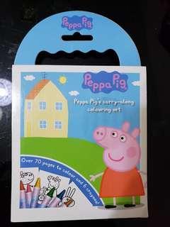 Peppa Pig 顏色薄連筆