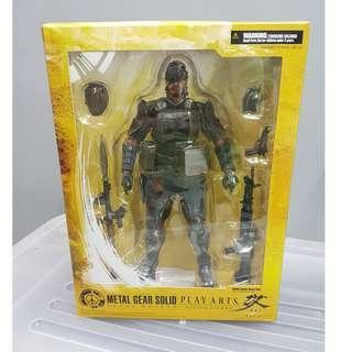 Battle Dress Version Vol 4  Snake - Play Arts Kai Metal Gear Peace Walker