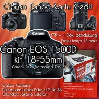 Cicilan Canon EOS 1500D, tanpa CC