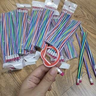 Stationary Pencils and Lipstick Erase