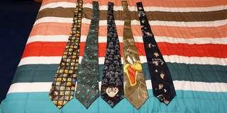 Pre loved neck ties