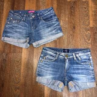 [clearance] denim shorts