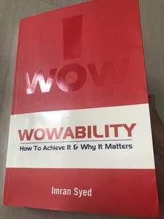 Wowability: How to Achieve It and Why It Matters - Imran Syed