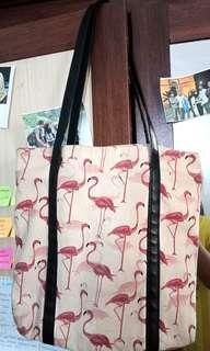 Totebag Flamingo
