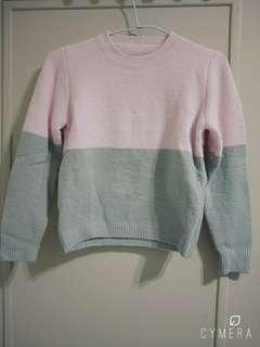 🚚 撞色保暖毛衣#半價衣服拍賣會