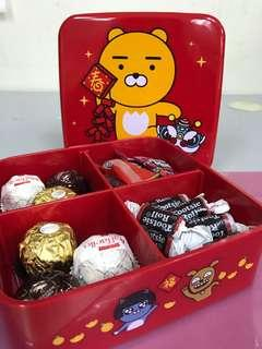 Limited edition KAKAO FRIENDS x hong kong Circle K convenience stores chinese new year box - RYAN