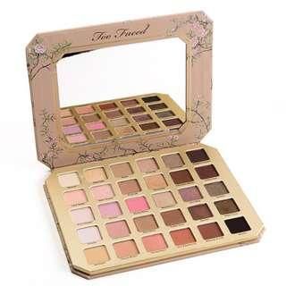Authentic Too Faced Natural Love Palettes