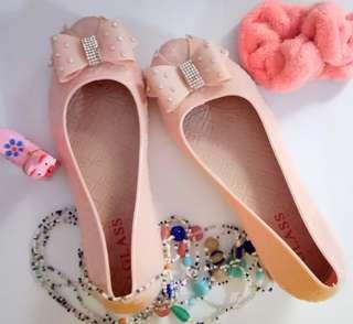 Jellyshoes Nude Pink