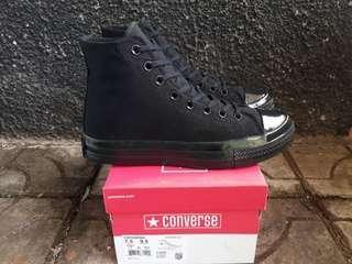 Sepatu Converse Allstar 70s Fullblack