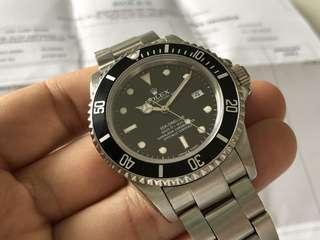 Rolex Sea Dweller 16660 Triple 6 4cf095618a
