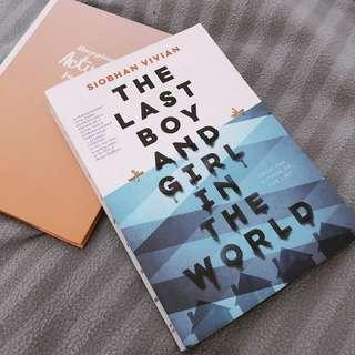 [Preloved] The Last Boy and Girl in The World by Siobhan Vivian