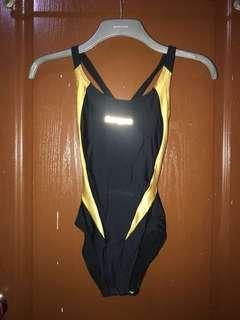Black-Gold One-piece