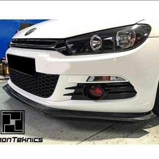 Cny sales: 2 sets only. Scirocco 1.4 2.0 carbon fiber front lip. Cash and carry non nego.