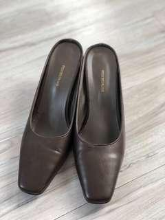 Korean style leather shoes (95%new) #斷捨離