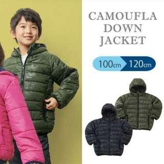 日本小童夾棉外套
