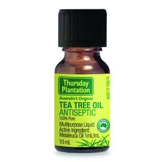 [FREE MAIL]10ml Tea Tree Oil Thursday Plantation