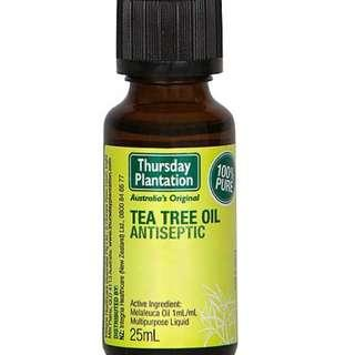 [FREE MAIL]25ml Tea Tree Oil Thursday Plantation