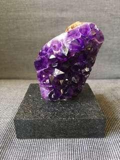 頂級烏拉圭紫晶簇
