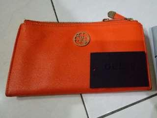 Reprice Preloved Guess Wallet Original FREE Miniso Wallet Small Size