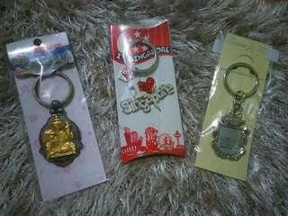 TAKE ALL❗ BNEW & SEALED❗ Singapore & Brunei Souvenir Keychain