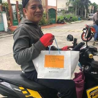 Proof of delivery 🛵