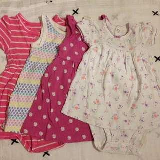 Carters Old Navy dress 3mos