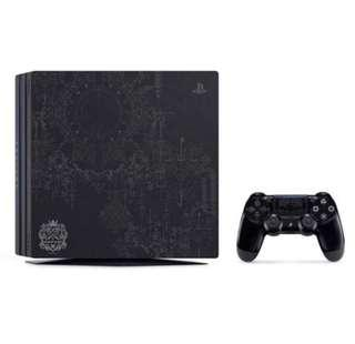 全新行貨跟單 PS4 Pro KINGDOM HEARTS III Limited Edition