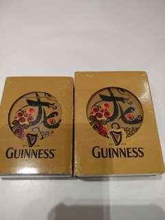 Guinness mahjong card poker card