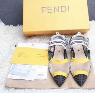 Fendi Mesh Flats