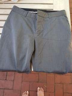 Farage grey suit pants. Size 8