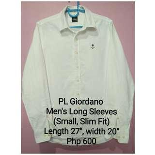 PL Giordano Men's Long Sleeves (Small)