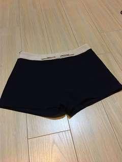 Dark blue short pants
