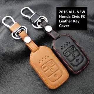 Honda Civic FC All-New 2016-2018 Keyless Remote Leather Key Cover