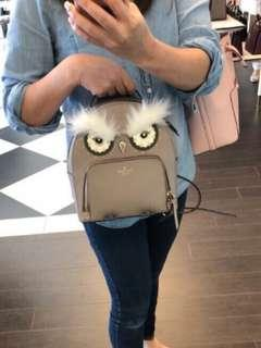 🚚 Kate Spade Owl Tomi Backpack