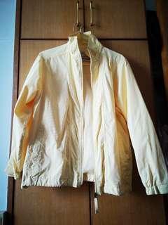 米黃色 女裝 風褸